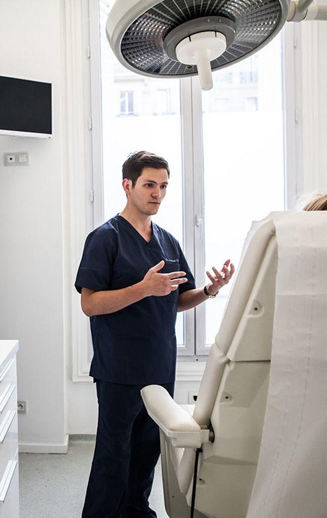La vision du Dr Arnaud Petit, Chirurgien Esthétique à Paris