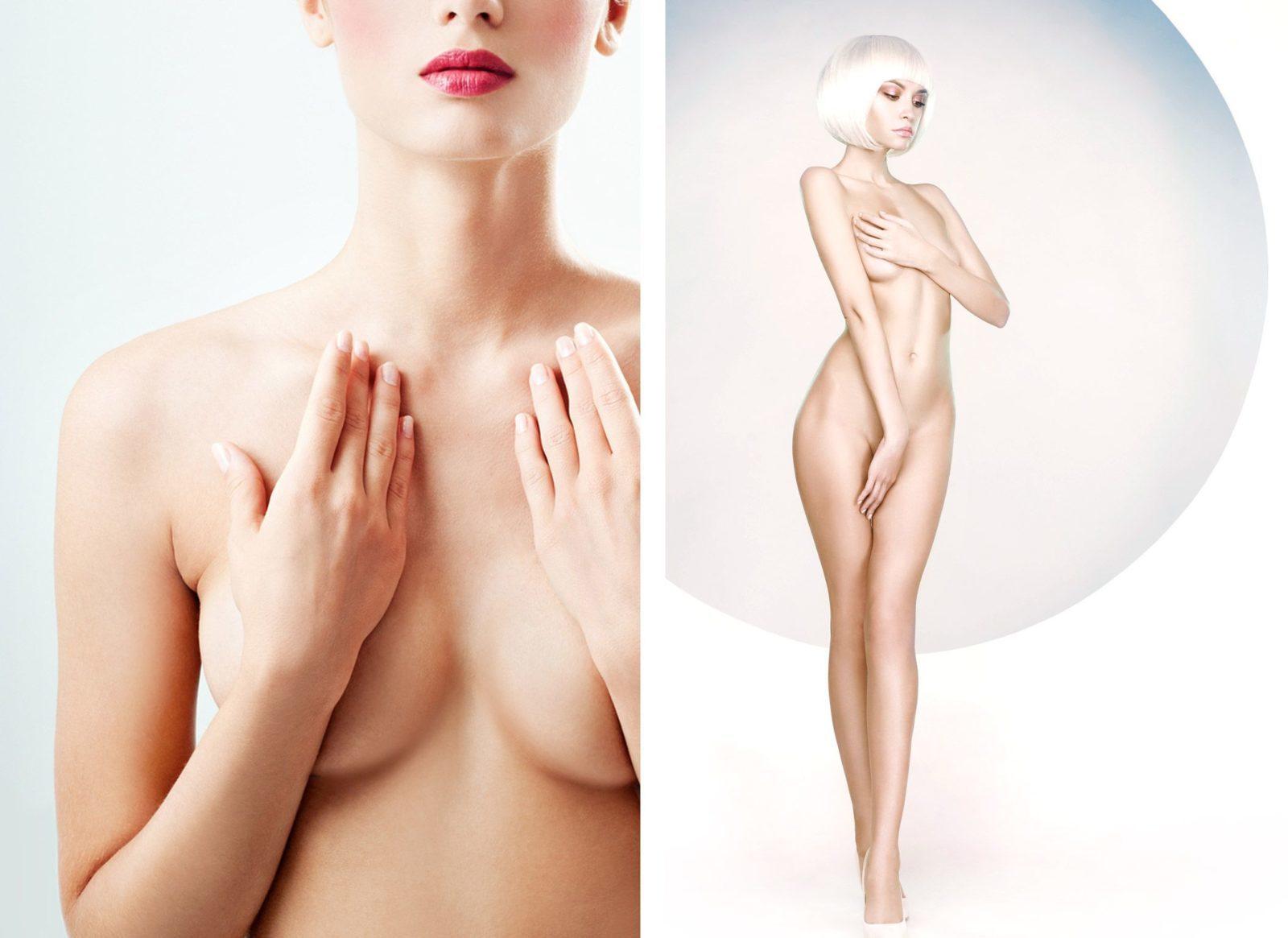 Modèle pour la Chirurgie esthétique du corps et des seins avec le Dr Petit à Paris